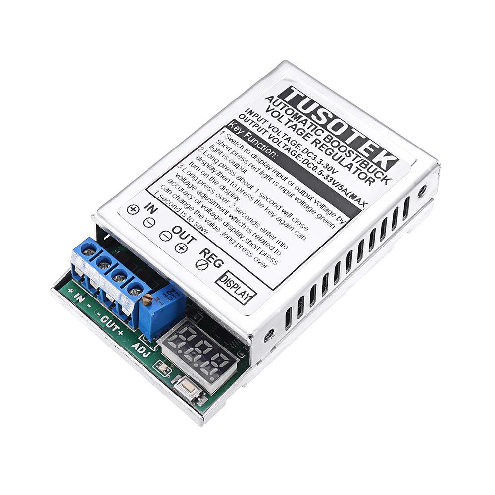 5v and 33v dc voltage regulator board