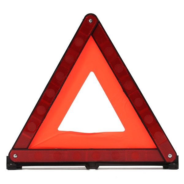 folding truck road safety sign emergency warning triangle hazard