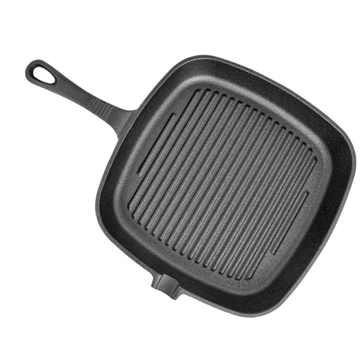 Grill Frying Pan Non Stick Cast Iron Grill Frying Pan Griddle Bbq Kitchen