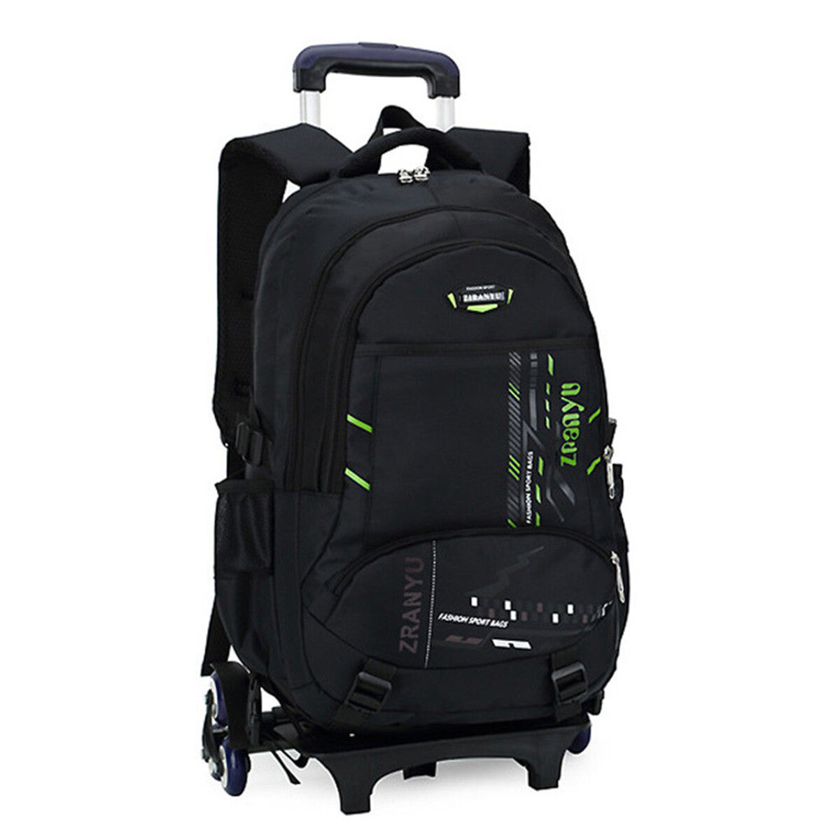 Travel Rucksack 36l Children Kids Trolley Backpack Camping Travel Rucksack School Luggage Bag With Wheels