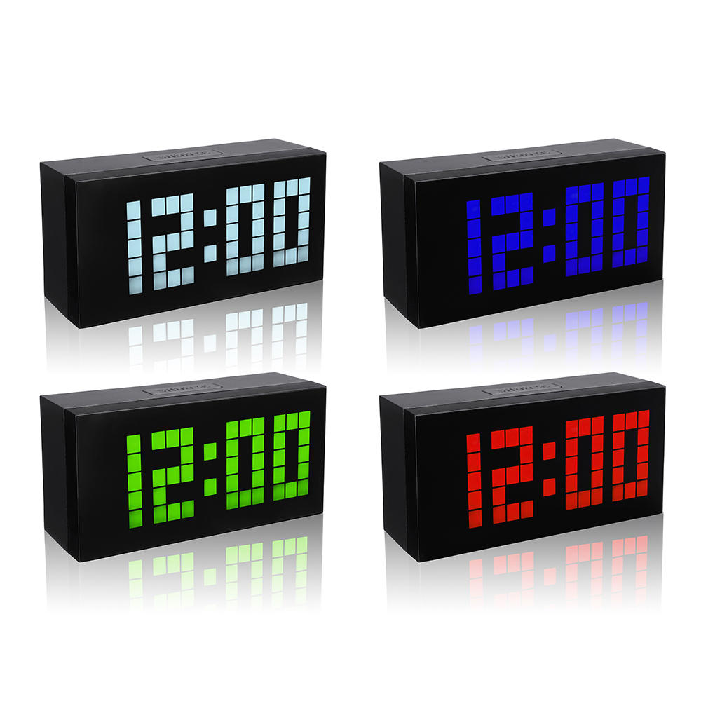 Digital Clock For Sale Big Display Large Alarm Clock Time Modern Alarm Clock Smart Clocks Countdown Digital Snooze Clock