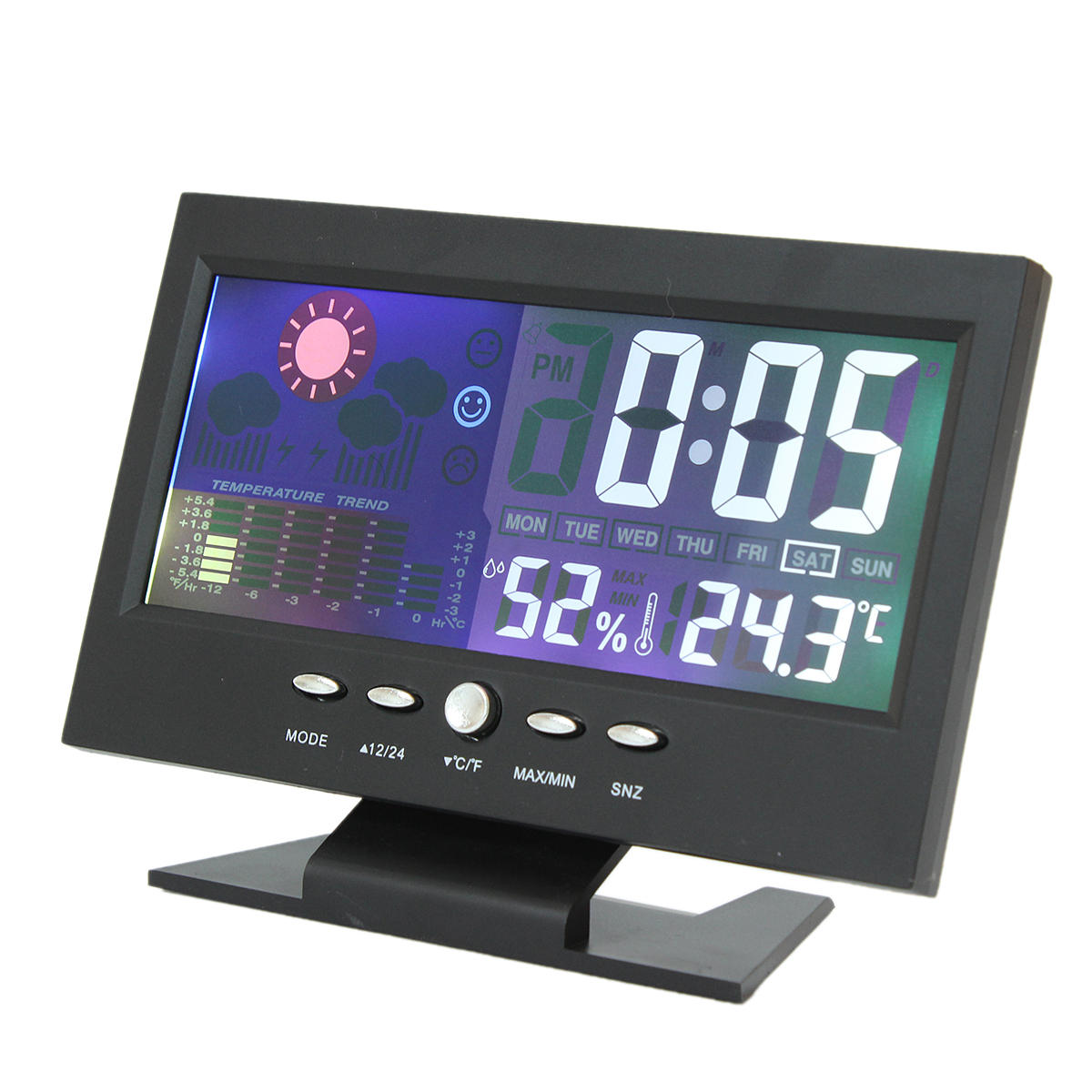 Digital Clock For Sale Imars Color Lcd Screen Calendar Digital Clock Car