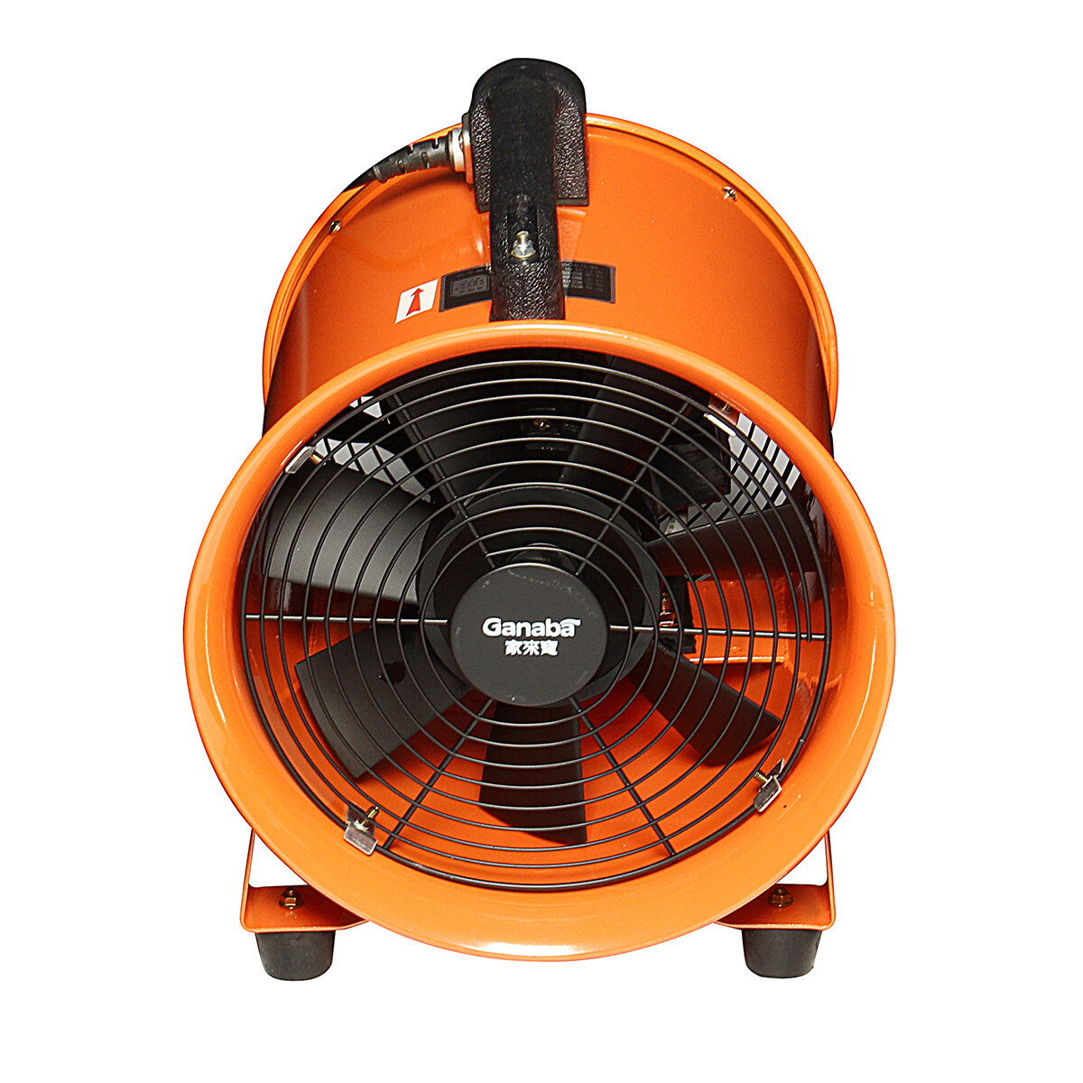 Portable Extractor Fan 10 Inch Portable Blower Ventilator Extractor Industrial Garage High Rotation Fan