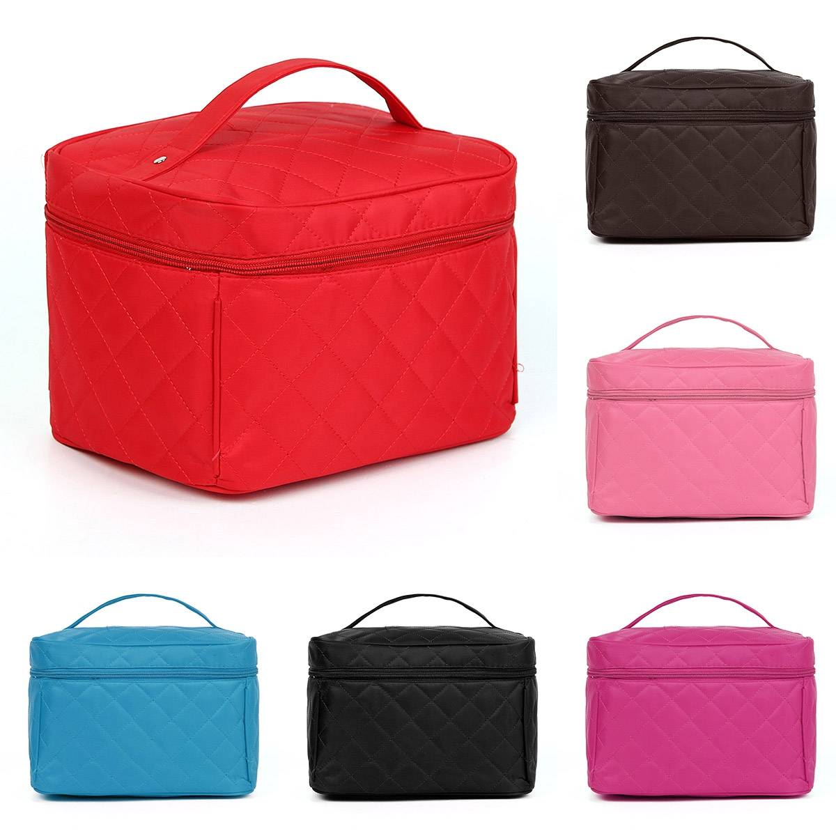 Travel Luggage Organiser Lady Makeup Organiser Cosmetic Container Case Toiletry Travel Bag