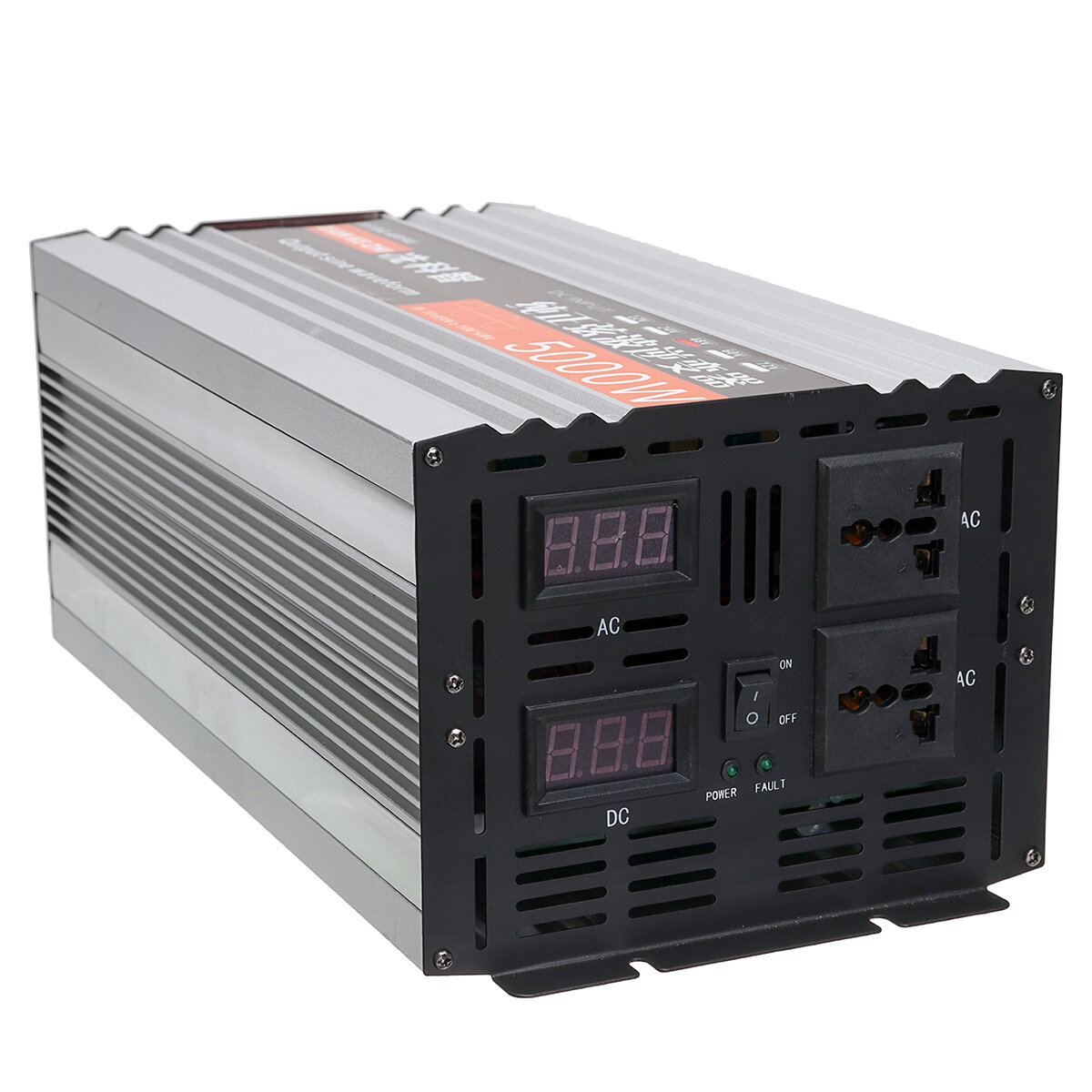 Ac Converter Pure Sine Wave Inverter Dual Led Display 5000w Power Inverter 12v 24 48 Dc To 220v Ac Converter