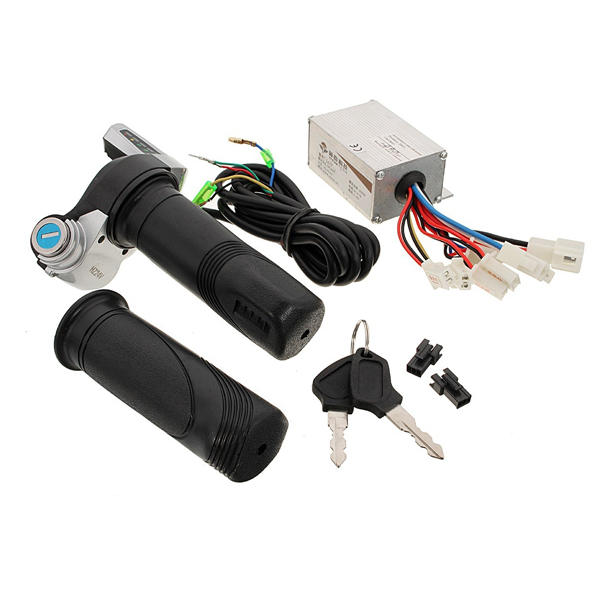 24v 250w motorcycle brush speed controller  scooter throttle twist
