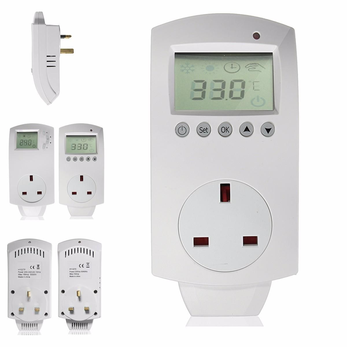Heating Thermostat Electric Digital Temperature Controller Programmable Heating Thermostat