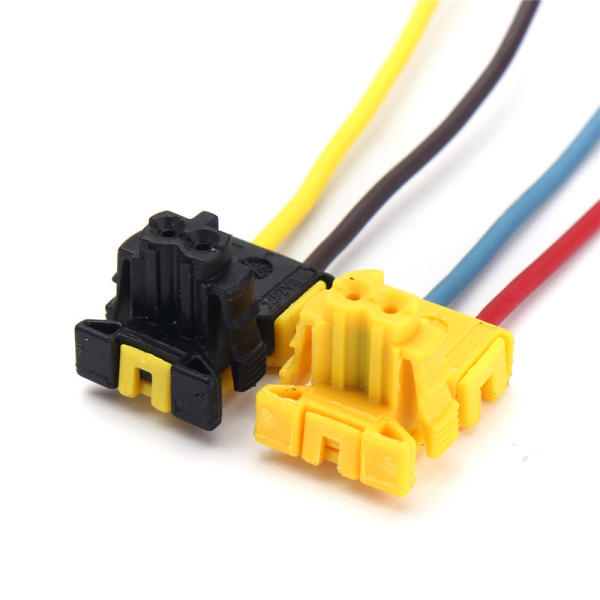 2 pcs airbag clock spring plug connector clock spring wire for ford