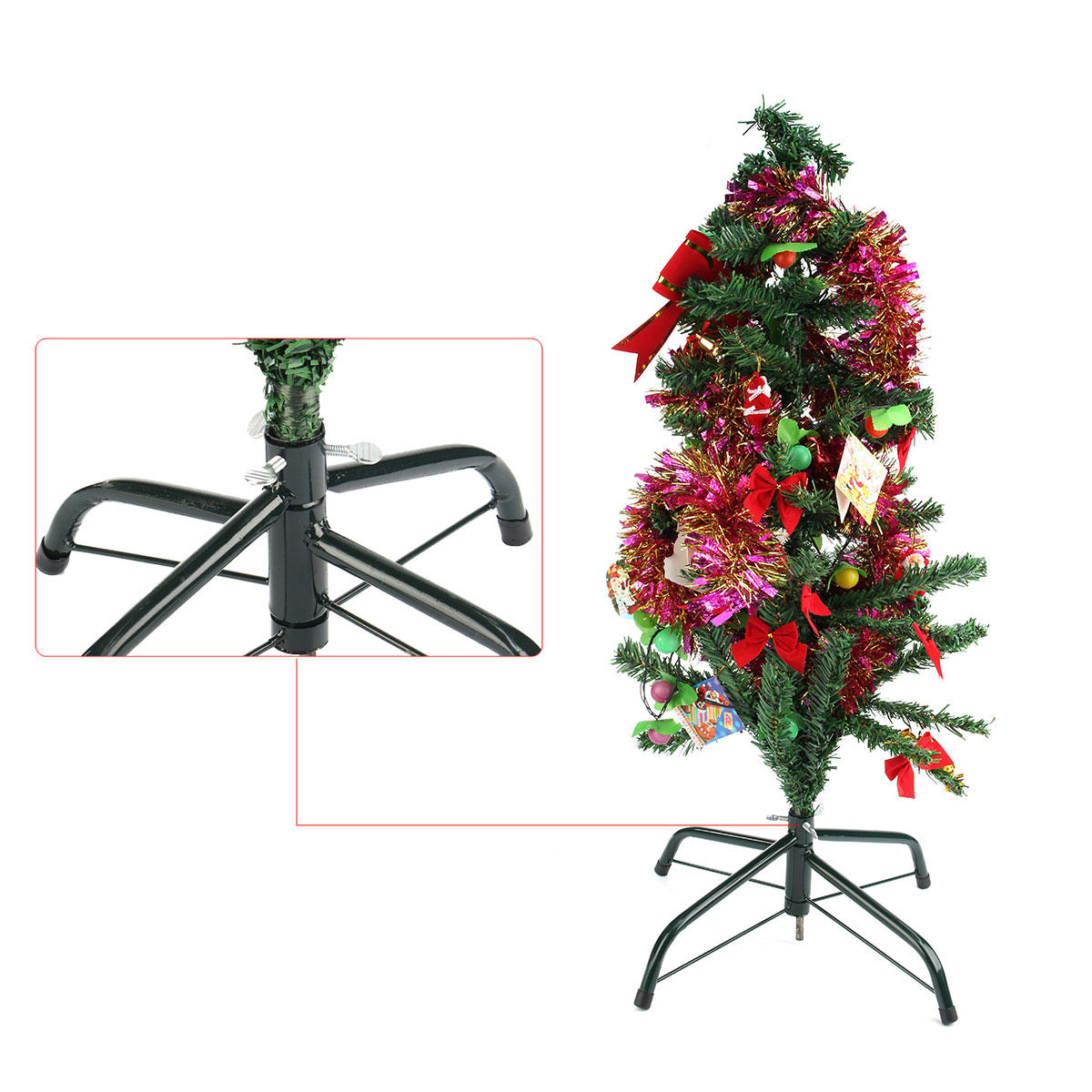 Christmas Tree Stand For Sale 40cm 7ft Metal Holder Base Christmas Tree Stand Green Cast Iron Stand Decorations