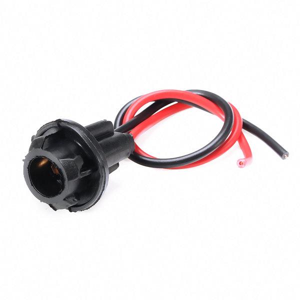 T10 Instrument Panel Dash Board Socket Plug LED Incandescent Wire
