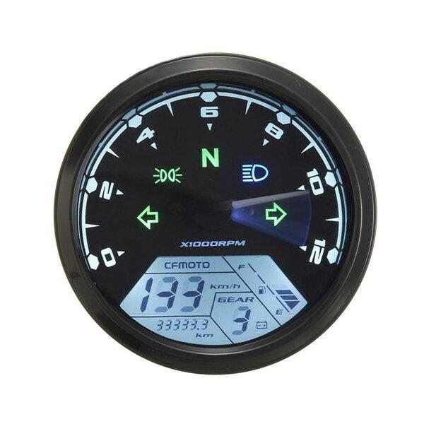 12000rmp lcd digital speedometer odometer motorcycle 1-4 cylinders