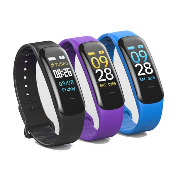 bakeey c1 plus blood pressure oxygen heart rate monitor fitness