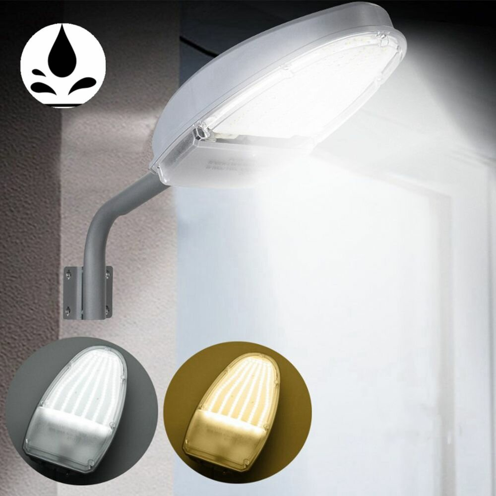 Lamparas Led Para Patios 24w Impermeable Pared De Control De Luz Ip65 Lámpara 144 Led Luces De Calle Para Al Aire Libre Patio Ac85 265v