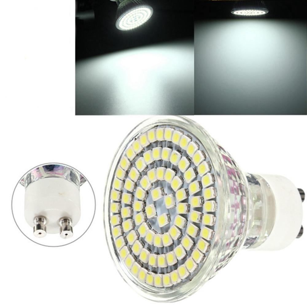 Led Gu10 5w Gu10 5w Led Spotlightt Pure White 80 3528 400lm Spotlightts Bulbs Lamps Ac 220v