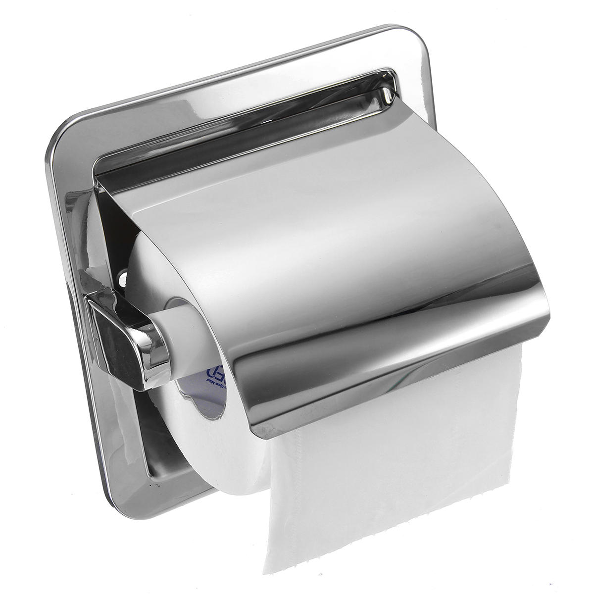 Recessed Toilet Paper Holder For Large Rolls Recessed Toilet Paper Roll Holder Tissue Brushed Nickel