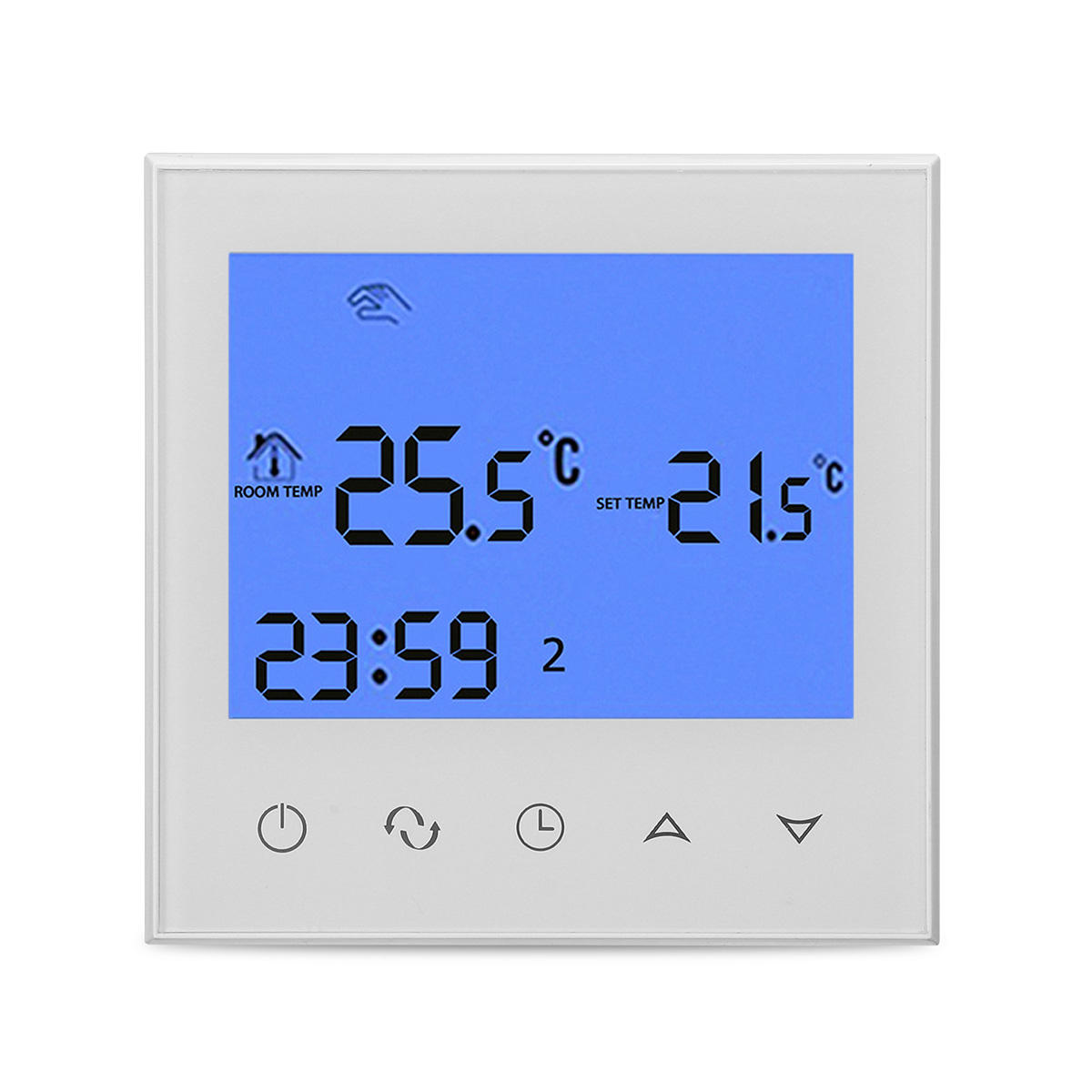 Heating Thermostat Programmable Wireles Wifi Digital Lcd Heating Thermostat Phone App Control