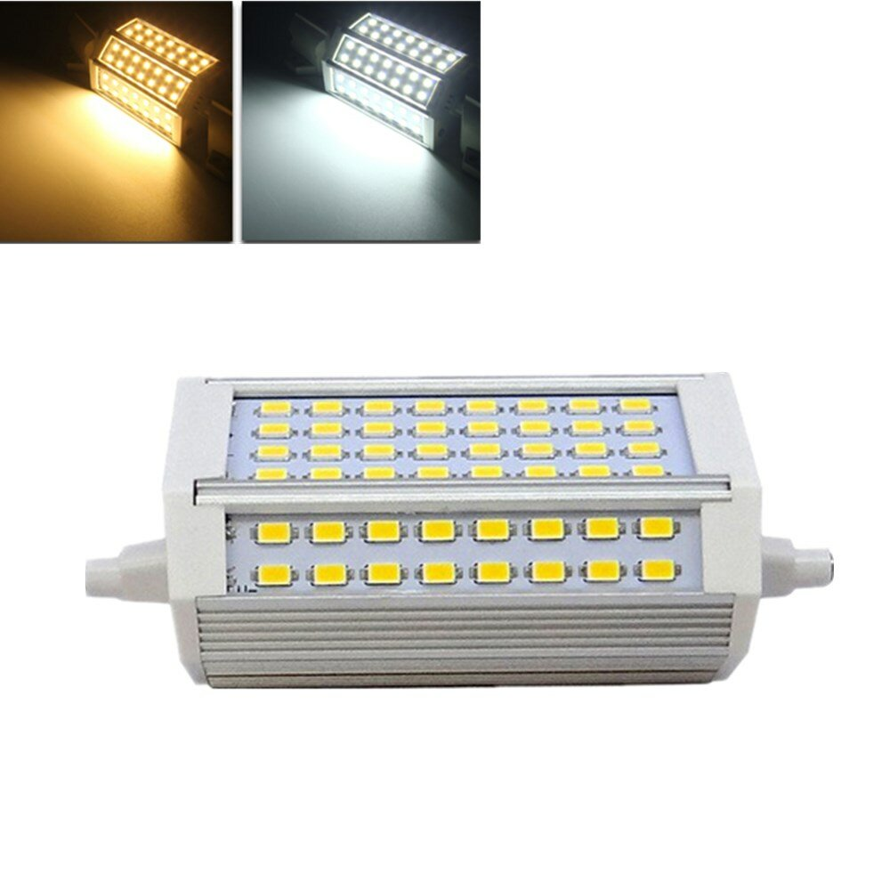 R7s Led Dimmable R7s Dimmable 30w 3000lm 118mm 64 Smd 5730 Warm White White Led Light Bulb Ac 85 265v