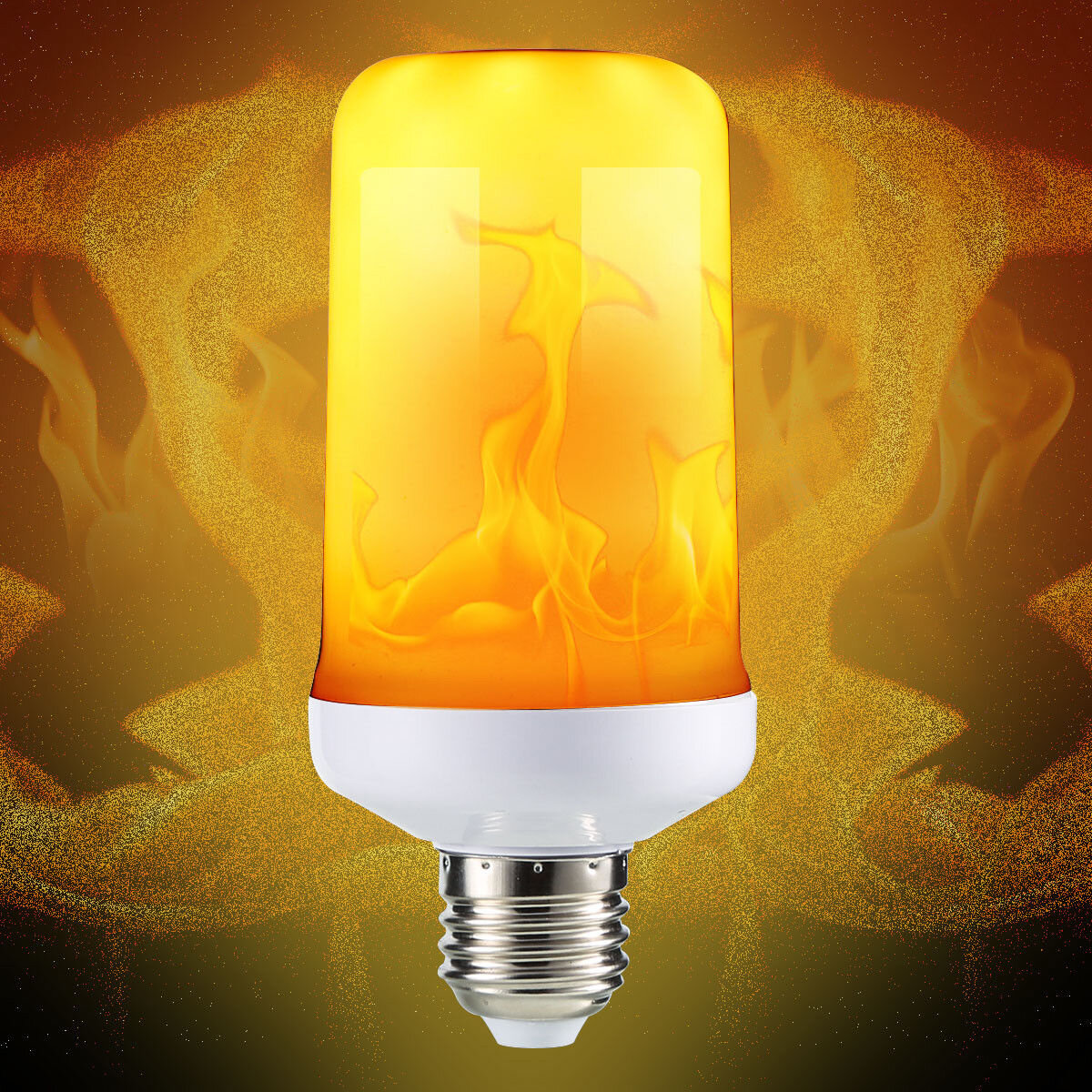 Flame Led Lamp E27 E27 4 Modes Smd2835 Led Flame Effect Flickering Emulation Fire Light Bulb Decoration Lamp Ac85 265v