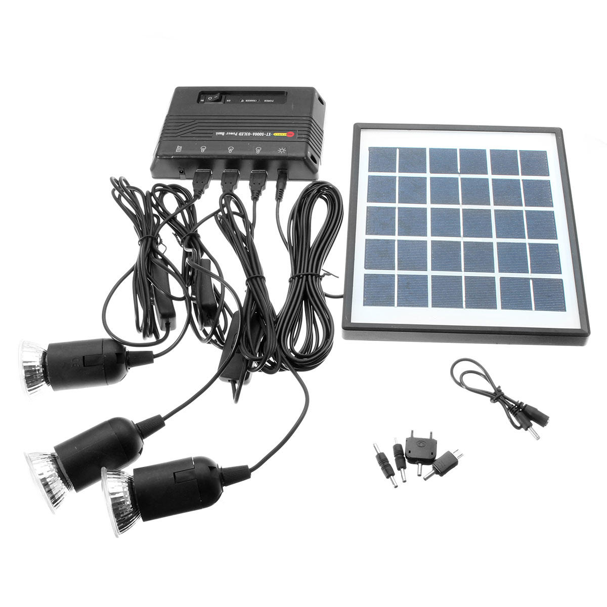 Diy Power Bank Ac 6v 4w Diy Outdoor Solar Panel With Power Bank 3 3 7v 1w Led Lamp For Usb Charging