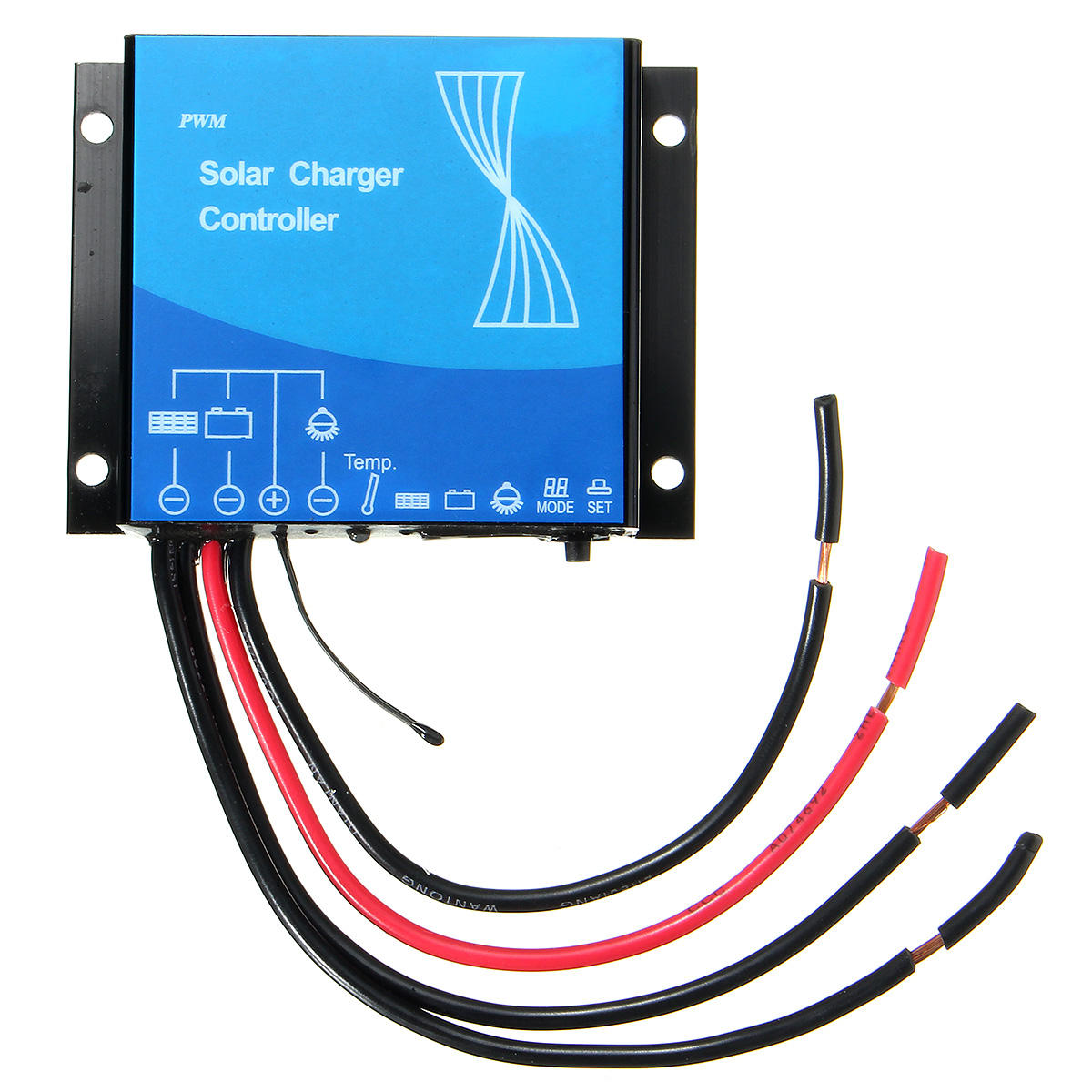 12v Ip67 12v 24v 20a Solar Charge Controller Solar Light Battery Regulator Waterproof Ip67
