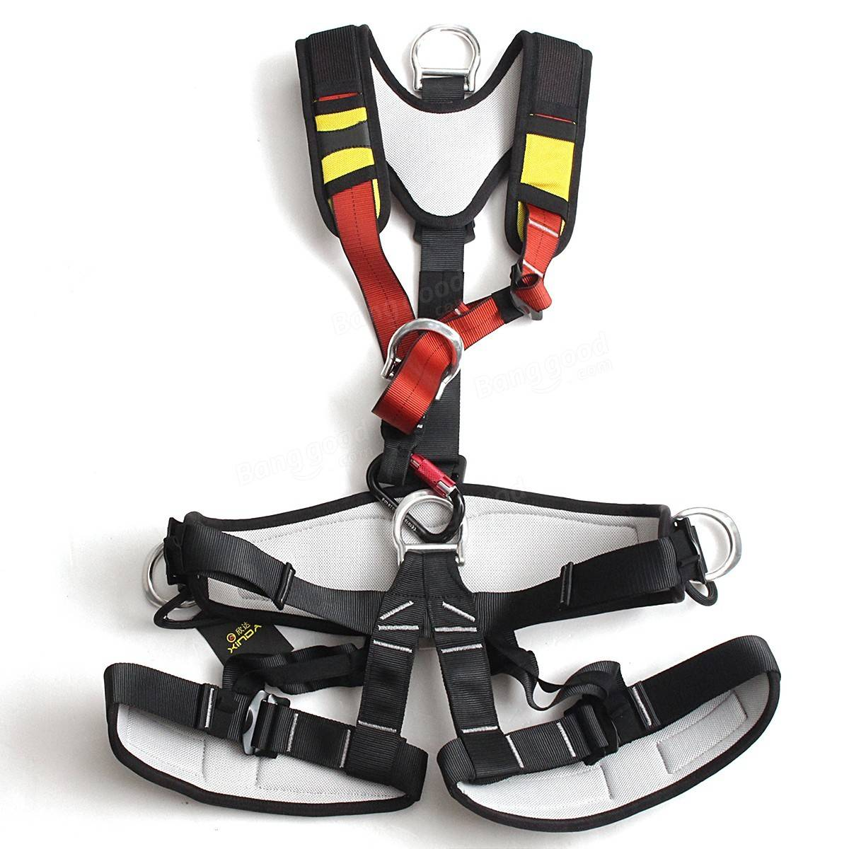 Safety Belt Xinda Full Body Safety Rock Mountain Climbing Rappelling Harness Tree Arborist Seat Belt Strap