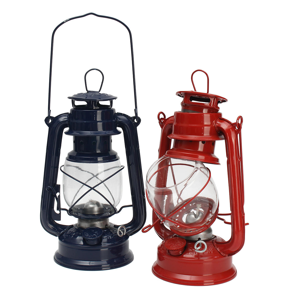 Diy Kerosene Lamp Vintage Oil Lamp Lantern Kerosene Paraffin Hurricane Lamp Light Outdoor Camping