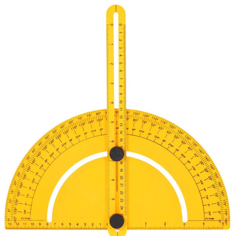 plastic protractor angle finder measure ruler goniometer