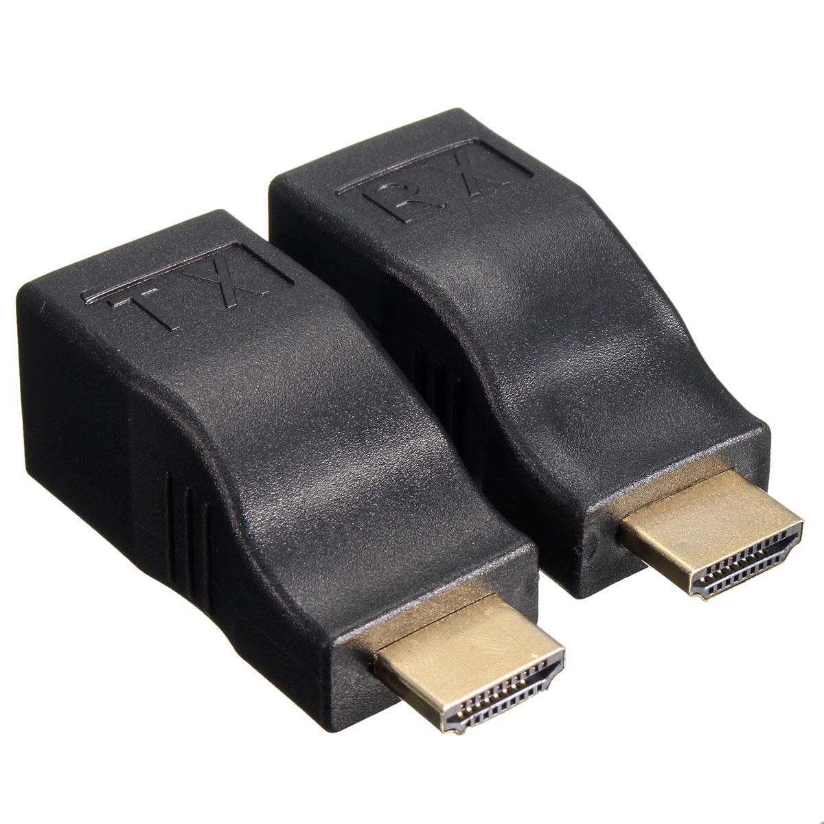 Cable Ethernet 2pcs Hd To Rj45 Network Lan Ethernet Cable Extender Over By Cat 5e 6 Hd 1080p 3d