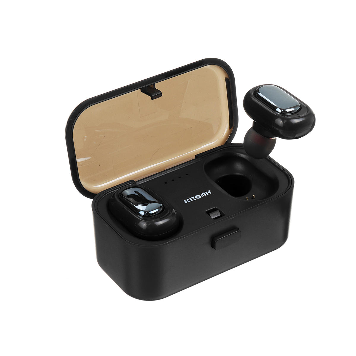 Box Bluetooth Mini Tws True Wireless Bluetooth Earphone Hifi Stereo Noise Cancelling Waterproof Headphone With 800mah Charging Box