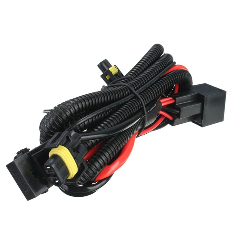 h11 880 relay wiring harness for hid conversion kit add-on fog