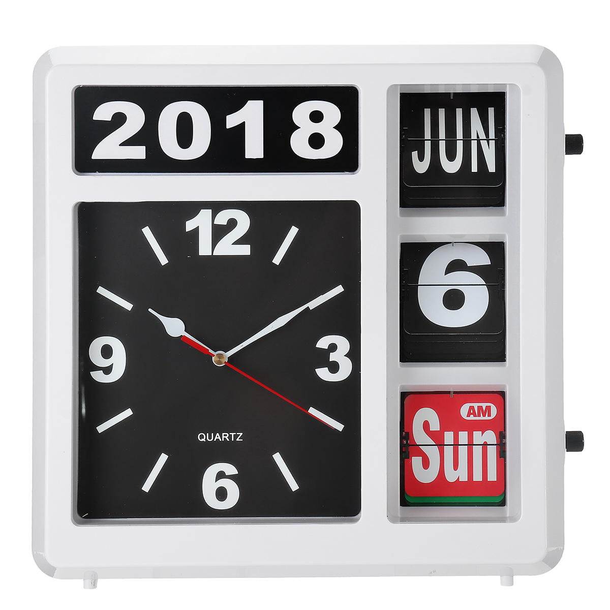 Flip Clock Creative Automatic Flip Desktop Clock For Gift Or Art Home And Office Decorative Novelty Table Clock Newest Design Creative Technology Decoration