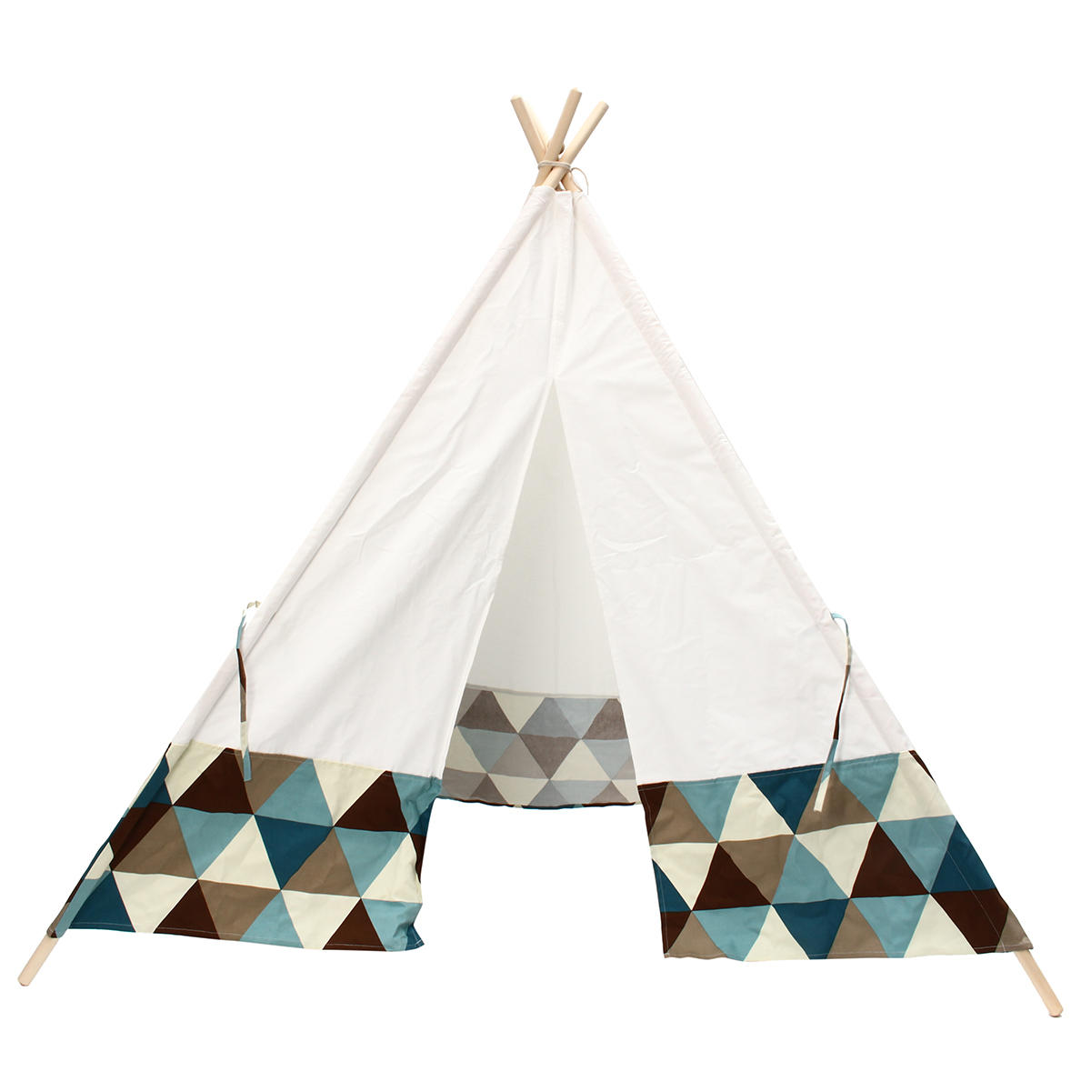 Kids Play Tent Portable Kids Play Tent Cotton Canvas Playhouse Children Sleeping Playing Teepee Indoor