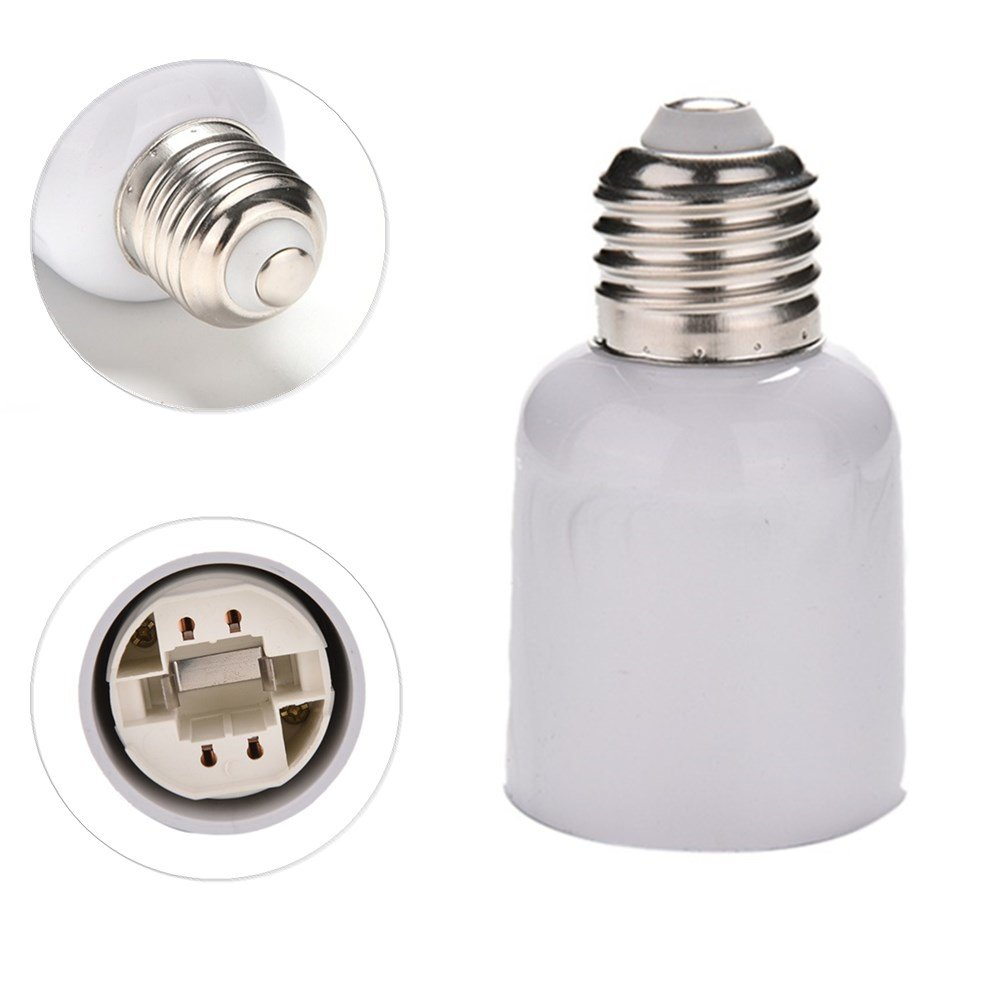 Halogenlampe Led E27 To G24 Socket Base Led Halogen Cfl Light Bulb Lamp Adapter Converter