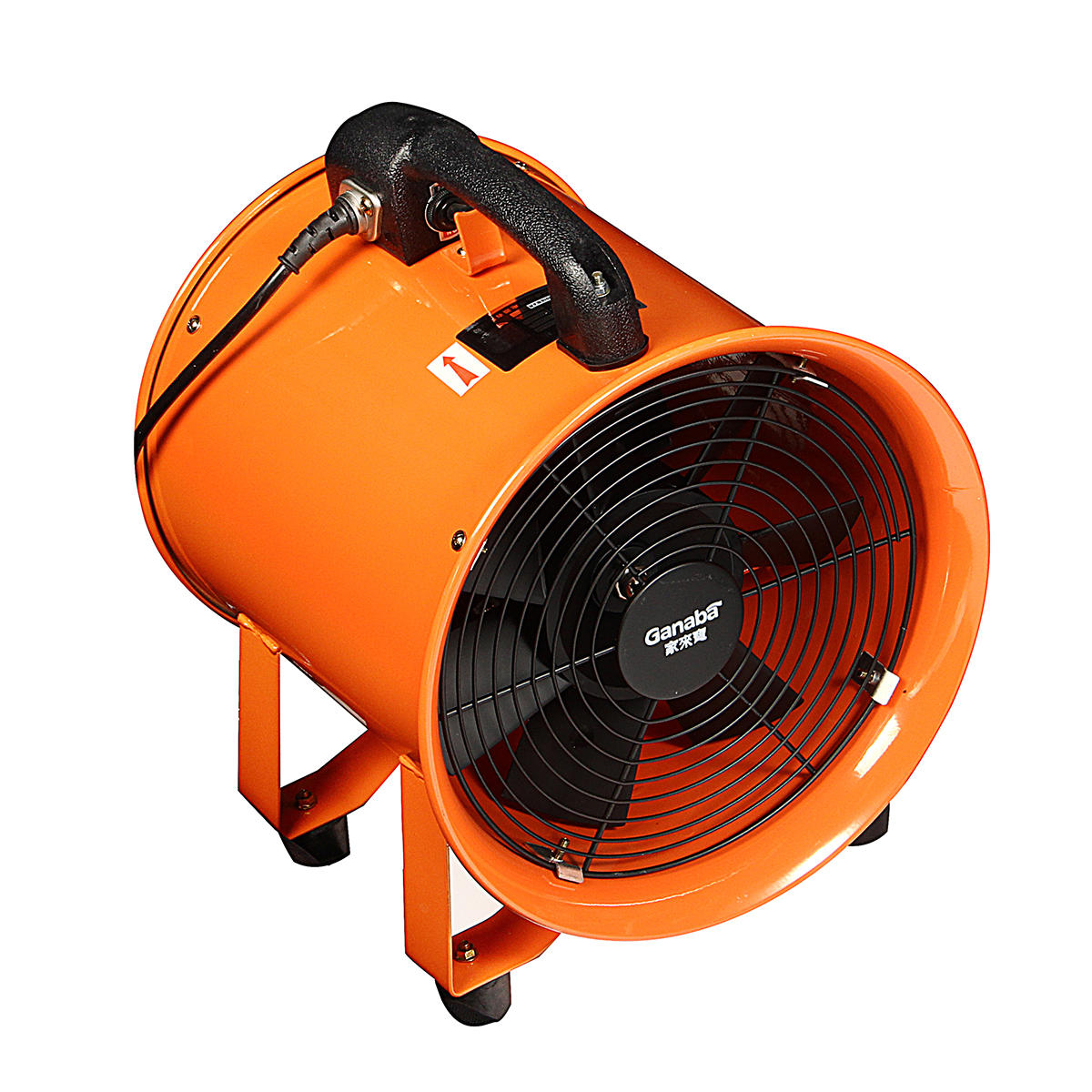 Portable Extractor Fan 8 Portable Ventilator Axial Ducting Blower Industrial Workshop Extractor Fan