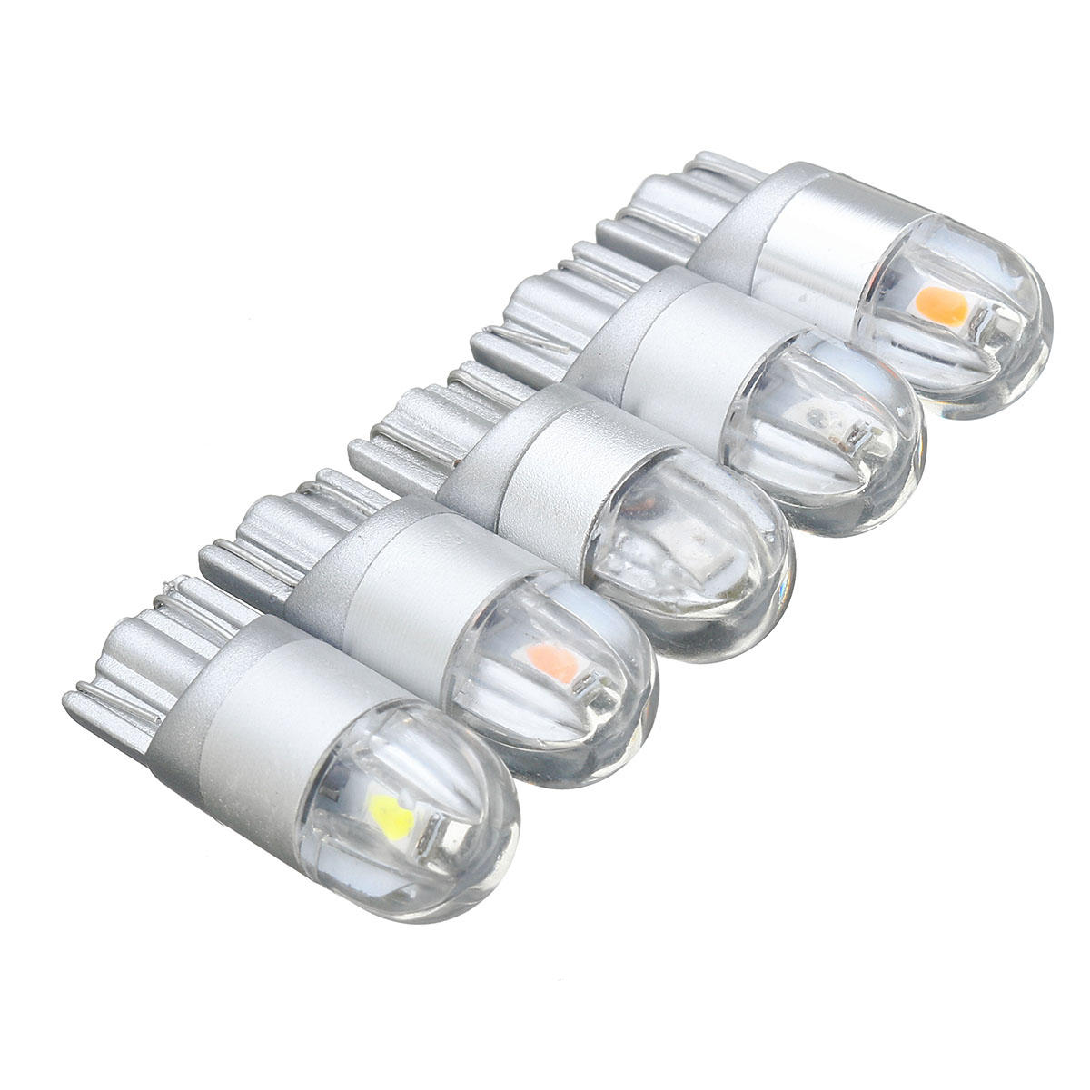 12v 5w 12v T10 168 194 5w Led Bulbs Car Interior Reading Light Side Lamp Super Bright