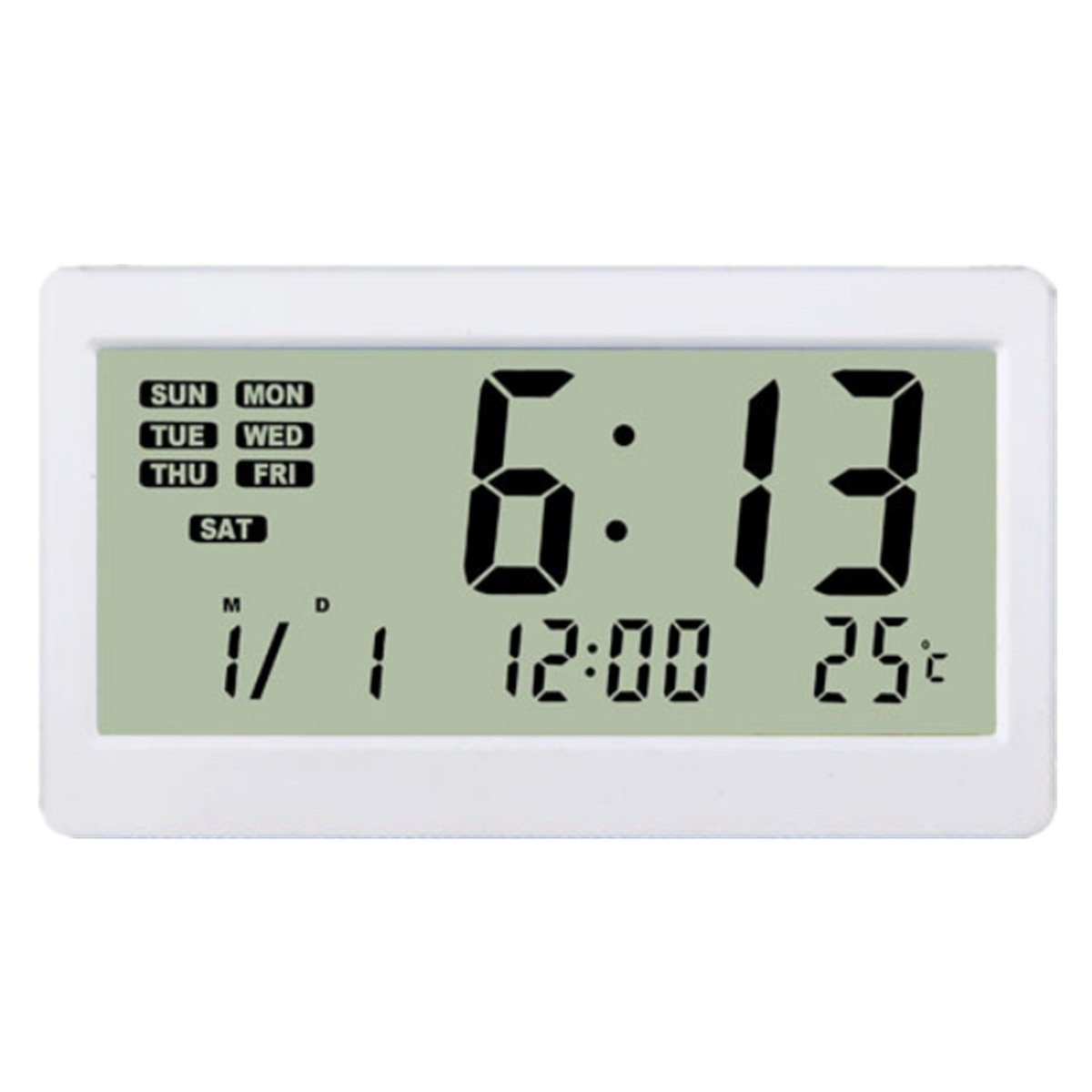 Digital Clock For Sale Magnetic Lcd Digital Alarm Clock Temperature Meter Thermometer Calendar Stand