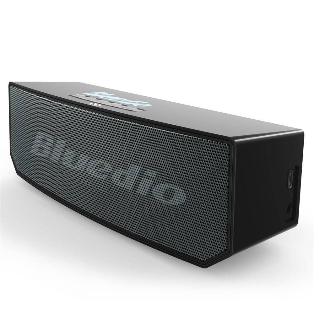 Bluetooth Box Bluedio Bs 6 Smart Cloud Wireless Bluetooth Speaker 3 Drviers Voice Control Bass Stereo Soundbar