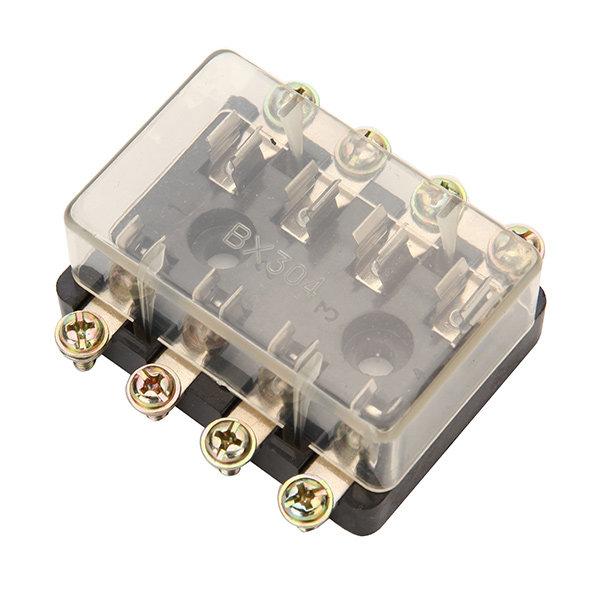 4 way car auto circuit fuse box holder agc  jso tube multiple fuse