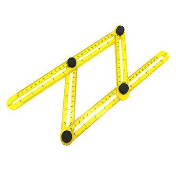 raitool™ four side measuring tool multi angle ruler template tool angle