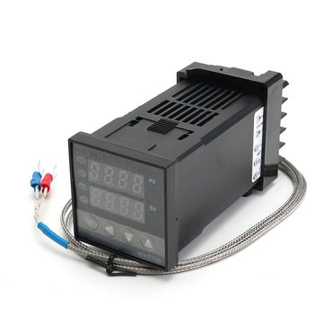 digital rex-c100 temperature controller with k type thermocouple Sale