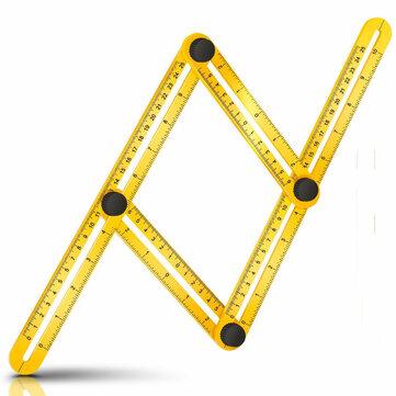 multi angle measuring ruler measures all angles angleizer
