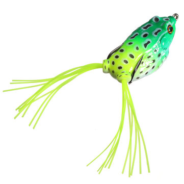 Fishing Lure Soft Frog Baits Frog Hollow Body Soft Bait Fishing - frog body
