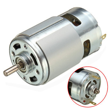 775 motor dc 12v-36v 3500-9000rpm motor large torque high power