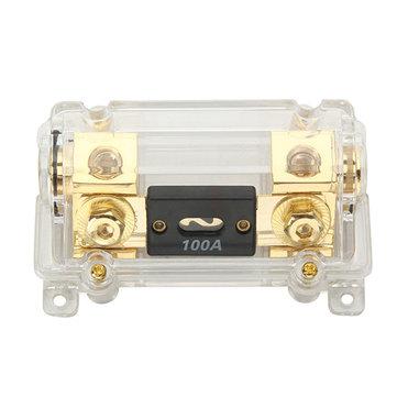 car audio transparent fusetron fuse box insurance block fuse holder Sale