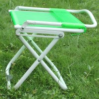 Portable Fishing Chair Double Folding Fishing Stool ...