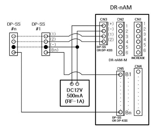 wiring diagram for commax door phone