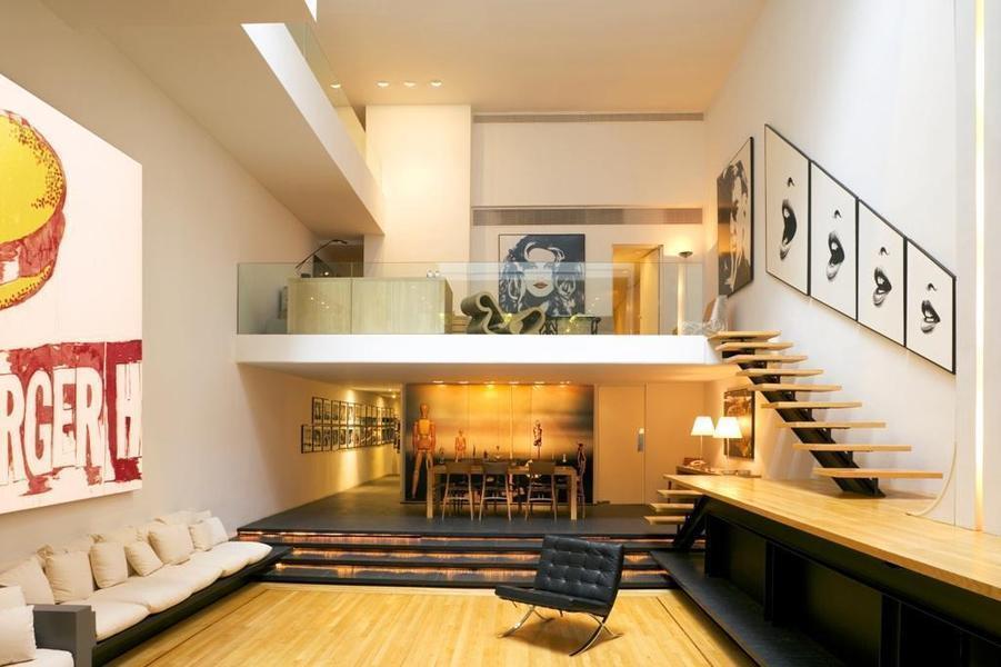 35899520jpg (901×600) staircase Pinterest Paul rudolph - decoration maison salon moderne