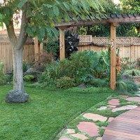 Backyard oasis - Sunset Magazine