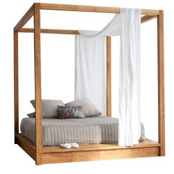 Catchy Y Living Pch Teak Bed Frame Sun 0216 Xl Frames Collage Frames 8x10