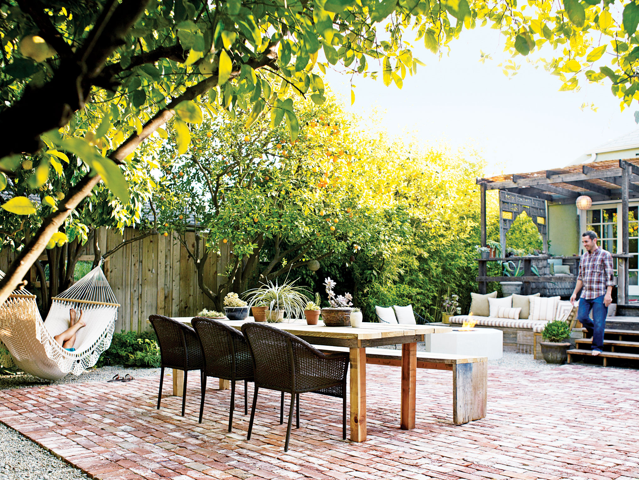 Ideas For Outdoor Dining Rooms Sunset Sunset Magazine